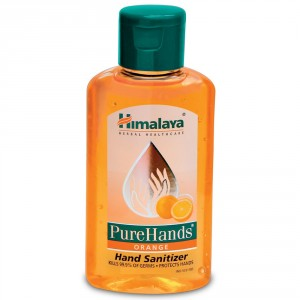 Buy Himalaya Wellness PureHands Orange Hand Sanitizer - Nykaa
