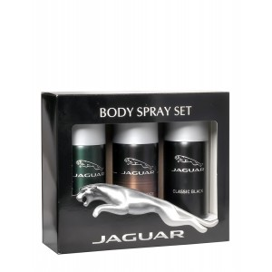 Buy Jaguar Deo Pack of 3 ( Classic Black, Classic Amber, For Men) - Nykaa