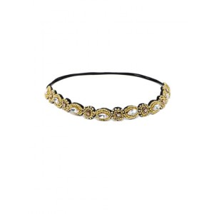 Buy Pipa + Bella Crystal And Gold Hairband - Nykaa