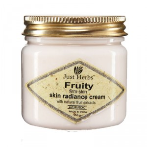 Buy Just Herbs Fruity Firm Skin Skin Radiance Cream - Nykaa