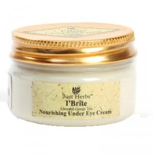 Buy Just Herbs I'Brite Almond-Green Tea Nourishing Under Eye Cream - Nykaa