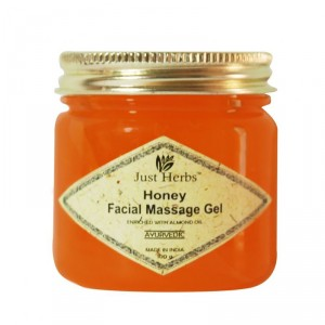 Buy Just Herbs Honey Facial Massage Gel - Nykaa