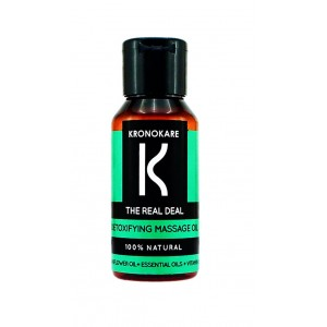 Buy Kronokare The Real Deal Detoxifying Massage Oil - Nykaa