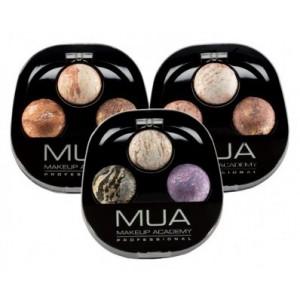 Buy MUA Baked Merged Trio Eyeshadow - Nykaa