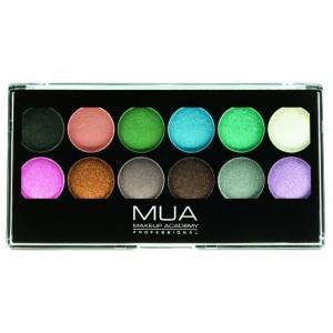 Buy MUA Pro Glitterball Eyeshadow Palette - Nykaa