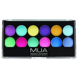 Buy MUA Pro Poptastic Eyeshadow Palette - Nykaa