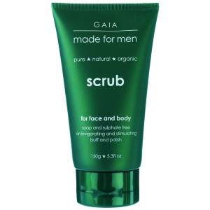 Buy Gaia Skin Naturals Face & Body Scrub For Men - Nykaa