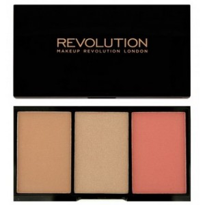 Buy Makeup Revolution Iconic Pro Blush, Bronze and Brighten - Nykaa