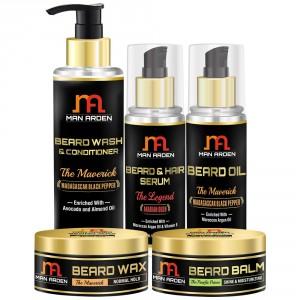 Buy Man Arden The Maverick Beard Care Kit - Nykaa