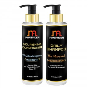 Buy Man Arden Daily Hair Shampoo (The Maverick) + Hair Conditioner (The Island Emperor) - Nykaa