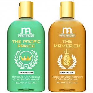 Buy Man Arden The Pacific Prince + The Maverick Luxury Shower Gel - Nykaa