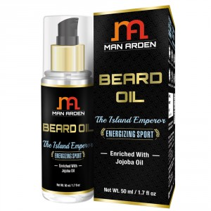 Buy Man Arden Beard & Mustache Oil - The Island Emperor - Nykaa