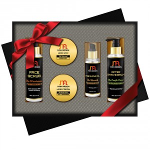 Buy Man Arden Shave Mastery Luxury Men's Grooming Gift Set - Nykaa