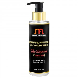 Buy Man Arden Beard Wash Shampoo & Conditioner - The Legend - Nykaa