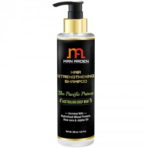 Buy Man Arden Hair Strengthening Shampoo - The Pacific Prince - Nykaa
