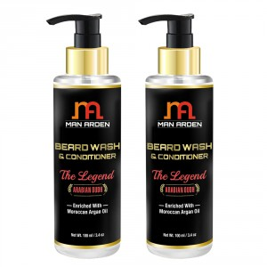 Buy Man Arden Beard Wash Shampoo & Conditioner - The Legend (Pack of 2) - Nykaa