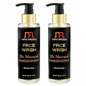Buy Man Arden Face Wash - The Maverick (Pack of 2) - Nykaa