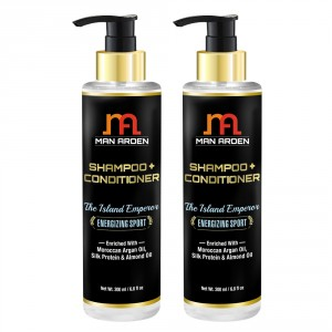 Buy Man Arden Hair Shampoo + Conditioner - The Island Emperor (Pack of 2) - Nykaa