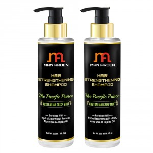 Buy Man Arden Hair Strengthening Shampoo - The Pacific Prince (Pack of 2) - Nykaa