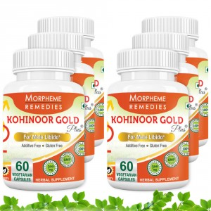Buy Morpheme Kohinoor Gold Plus 500mg Extracts - 60 Veg Caps. x 6 - Nykaa
