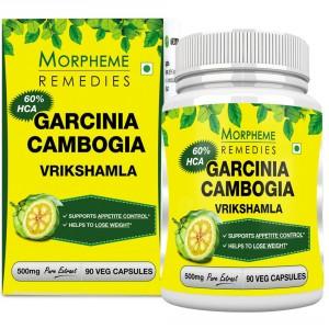 Buy Morpheme Garcinia Cambogia 500mg Extract - 90 Veg Caps. - Nykaa