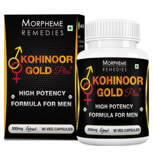 Buy Morpheme Kohinoor Gold Plus 500mg Extract - 90 Veg Caps. - Nykaa
