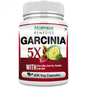 Buy Morpheme Remedies Garcinia 5X - Garcinia, Coffee, Green Tea, Forskolin, Grape Seed - Nykaa