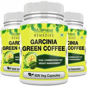 Buy Herbal Morpheme Remedies Garcinia Green Coffee 500mg Extract - 3 Bottles - Nykaa