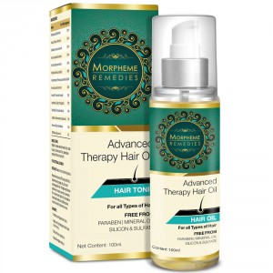 Buy Morpheme Advanced Therapy Hair Oil (Anti Hair Fall, Hair Loss & Hair Repair) - Nykaa