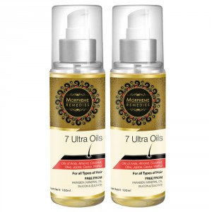 Buy Morpheme 7 Ultra Hair Oil - 2 Bottles - Nykaa