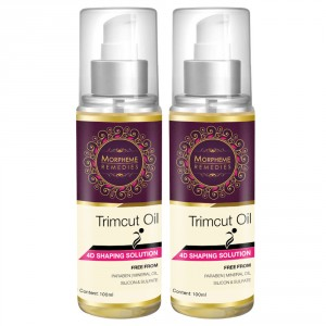Buy Morpheme Trimcut 4D Shaping Oil - 2 Bottles - Nykaa