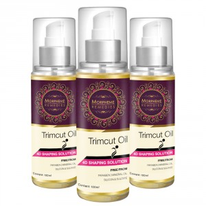 Buy Morpheme Trimcut 4D Shaping Oil - 3 Bottles - Nykaa