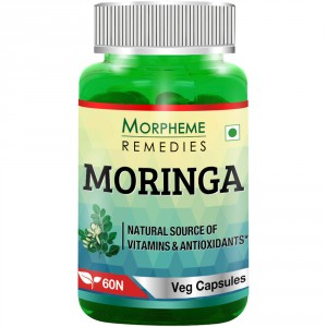 Buy Morpheme Moringa 500mg Extract - 60 Veg Caps - Nykaa