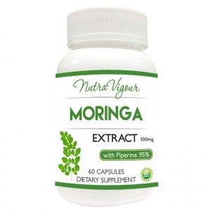 Buy Nutravigour Organic Moringa Extract Dietary Supplement - 60 Capsules - Nykaa