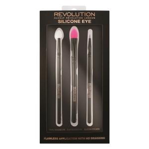 Buy Makeup Revolution Silicone Eye Brush Set  - Nykaa