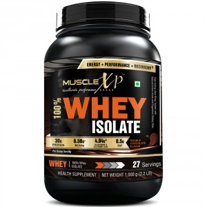 Buy Herbal MuscleXP 100% Whey Isolate, Double Rich Chocolate - The New Whey Standards - 1Kg (2.2 lbs) - Nykaa