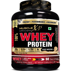 Buy MuscleXP 100% Whey Protein - Cafe Mocha - Nykaa