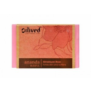 Buy Omved Ananda Himalayan Rose Bathbar - Nykaa