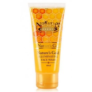 Buy Nature's Essence Gold Illuminating Face Wash - Nykaa
