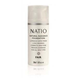 Buy Herbal Natio Natural Radiance Foundation - Nykaa
