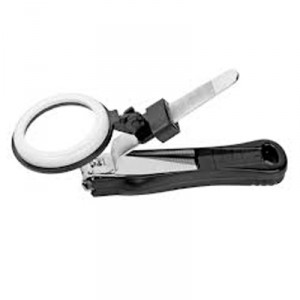 Buy Roots Set Of Large Nail Cutter With Magnifying Glass - Nykaa