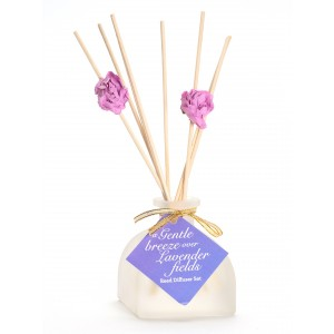 Buy Nyassa Reed Diffuser Set - A Gentle Breeze Over Lavender Fields - Nykaa