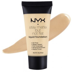 Buy NYX Stay Matte But Not Flat Liquid Foundation - Nykaa