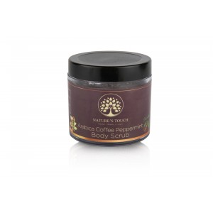Buy Nature's Touch Arabica Coffee Peppermint Body Scrub  - Nykaa