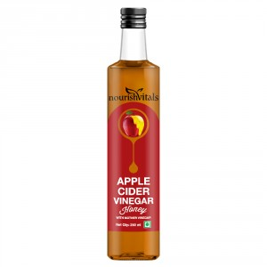 Buy Nourish Vitals Apple Cider Vinegar With Honey - With Mother Vinegar - Nykaa