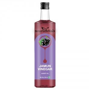 Buy Nourish Vitals Jamun Vinegar - Raw, Unfiltered & Undiluted (Jamun Sirka) - Nykaa
