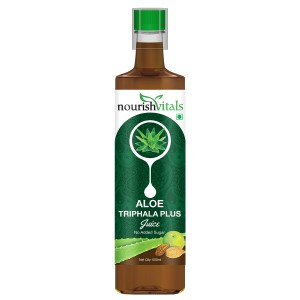 Buy Nourish Vitals Aloe Triphala Plus Juice - Nykaa