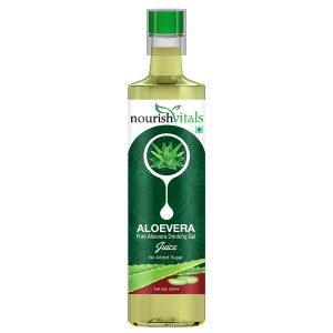 Buy Nourish Vitals Pure Aloe Vera Drinking Gel Juice - Nykaa