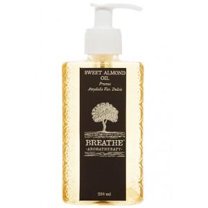 Buy Breathe Aromatherapy Sweet Almond Oil - 250ml - Nykaa