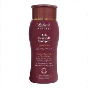 Buy Anherb Natural Anti Dandruff Shampoo - Nykaa
